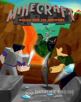 Minecraft - Digging Deep For Adventure (2010) PC